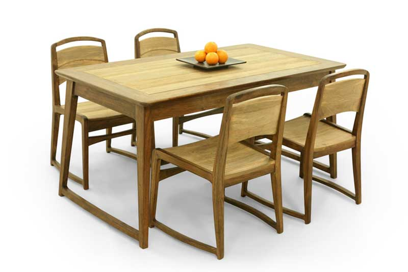 Kokida dining set furniture indonesia home decor indonesian furniture Uni home furniture indonesia