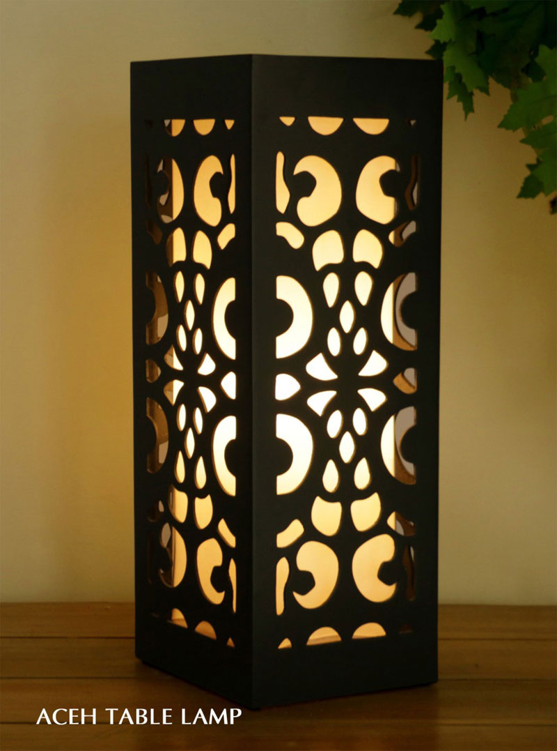 Dubai decorative table lamp