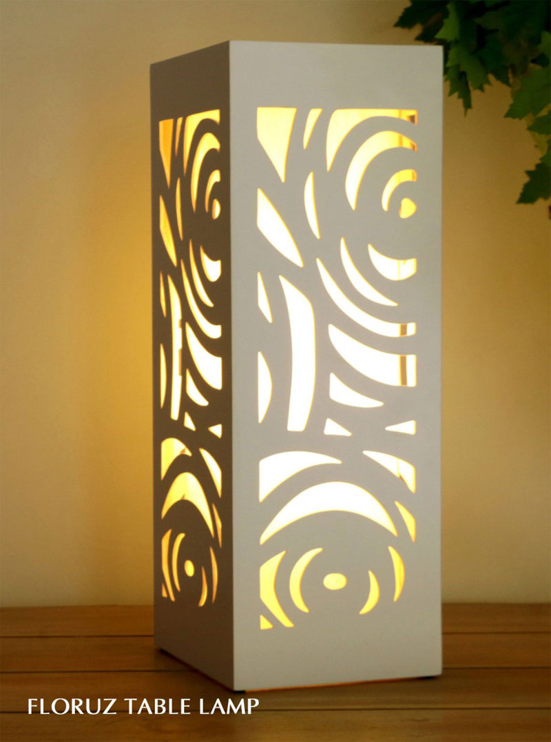 Bali decorative table lamp - Furniture for hotel, furniture