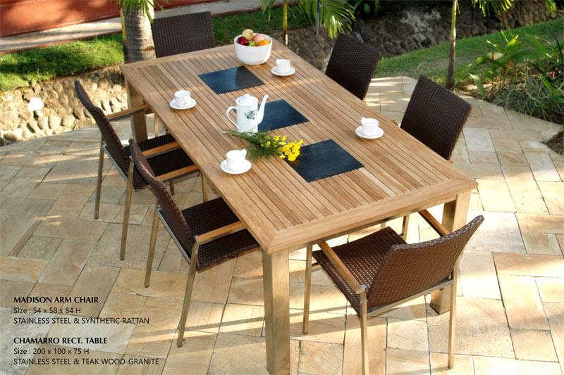 Turkey Garden Teak Furniture Set